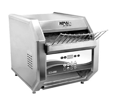 "APW ECO 4000-350E - Conveyor Toaster, (350) slices/hour, 1-1/2""H opening, electronic controls"