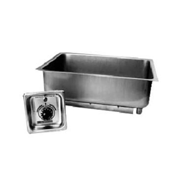 "APW BM-30 UL - Hot Food Well, built-in, (1) 12"" x 20"" pan, uninsulated, no drain, UL"