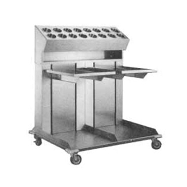 "APW CTRD-1620 - Tray Dispenser, mobile, dual platforms, for 16"" x 20"" trays"