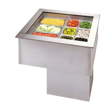 APW CW-1 - Cold Food Unit, Drop-in, refrigerated, 1-pan size, self-containe