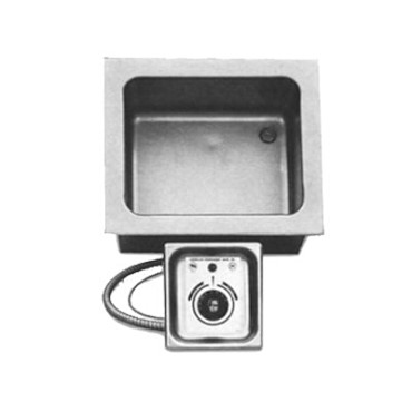 "APW HFW-12 - Drop-In Hot Food Well, (1) 12"" x 10"" well, 1/2 pan size, thermostatic, no drain"