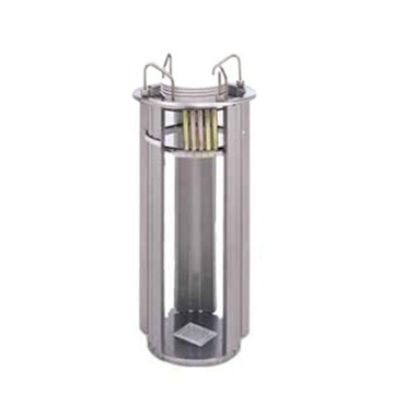 "APW L-9A - Dish Dispenser, drop-in, open frame, up to 3-1/2"" to 9-1/8"" diameter"