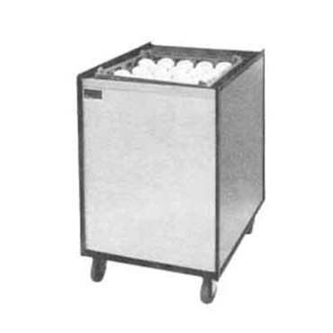 "APW MCTR-2020 - Cup & Glass Rack Dispenser, mobile, for 20"" x 20"" racks, enclosed cabinet"