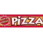 APW 21765300 - Merchandiser Decal, pizza merchandising