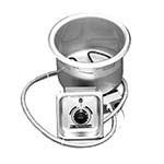 APW CH-11D - Round Drop-In Hot Food Well, 11 quart, with drain
