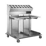 APW CTRD-1014 - Tray Dispenser, mobile, dual platforms, for 10