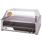 APW HR-50 - Hot Dog Grill, (10) chrome rollers, (850) per hour