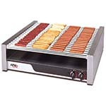 APW HR-85 - Hot Dog Grill, (18) chrome rollers, (1500) per hour
