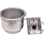 APW SM-50-11D UL - Round Drop-In Food Warmer, 10-1/2