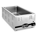 APW W-43V - Food Pan Warmer, electric, countertop, 28-1/2 quart capacity