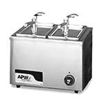 APW W-9 - Food Pan Warmer, electric, countertop, 7 quart capacity