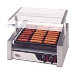 APW HRS-20S - Hot Dog Grill, (10) slanted Tru-Turn rollers, (340) per hour