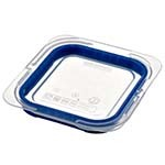 Araven 09852 - 1/6 Size Clear Polypropylene Air Tight Lid (Case of 6)