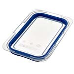 Araven 09853 - 1/4 Size Clear Polypropylene Air Tight Lid (Case of 6)