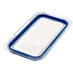 Araven 09854 - 1/3 Size Clear Polypropylene Air Tight Lid (Case of 6)