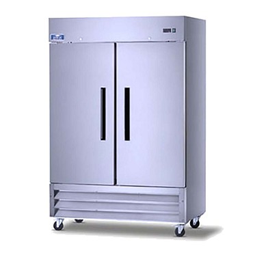 Arctic Air AR49 - 2-Section Reach-In Refrigerator