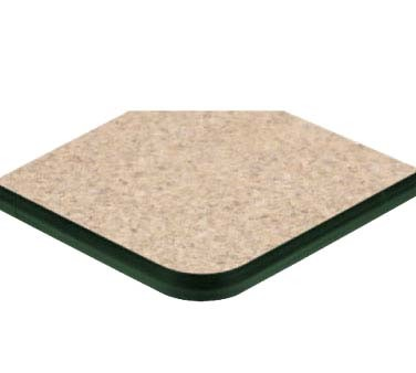 Ats Furniture Ats60 Gr Table Top Round 60 Inch Dia Green T Mold Edge