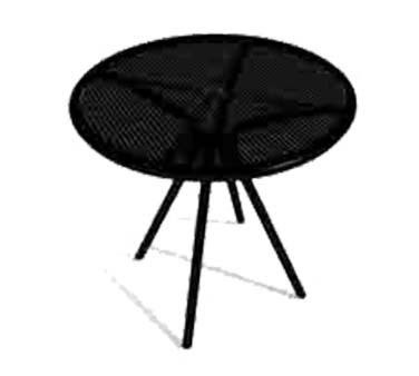 "ATS Furniture AB30 - Table, round, 30"" , fine mesh top, for outdoor use"