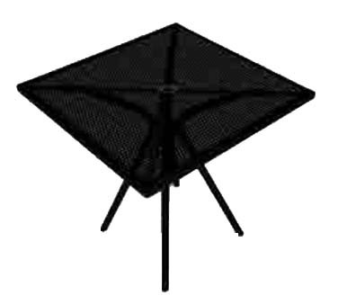 "ATS Furniture AB3030 - Table, square, 30"" x 30"" , fine mesh top, for outdoor use"