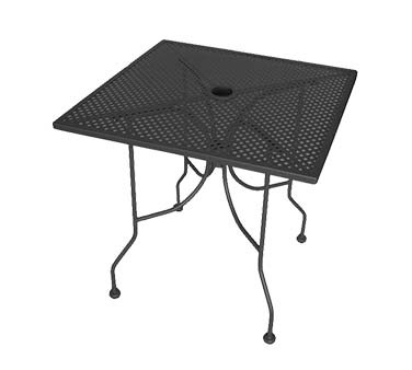 ATS Furniture ALM3048 - Table, rectangle, 30 x 48 inch, open mesh top, for outdoor use