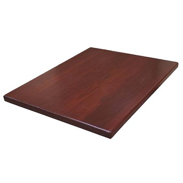 "ATS Furniture UV3636-50-DM - Table Top, square, 36"" x 36 inch, dark mahogany finish"
