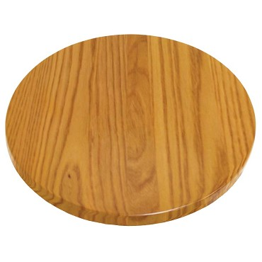 "ATS Furniture UV42-50-W - Table Top, round, 42"" dia., walnut finish"