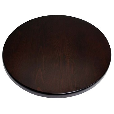"ATS Furniture UV24-50-C - Table Top, round, 24"" dia., cherry finish"