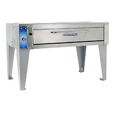 "Bakers Pride EP-2-8-5736 - Pizza Deck Oven, electric, double deck, 57""W x 36""D x 7""H caviti"