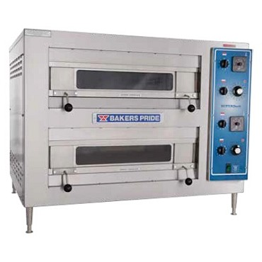 "Bakers Pride EB-2-2828 - All Purpose Deck Oven, elec., countertop, (2) 28""W x 28"
