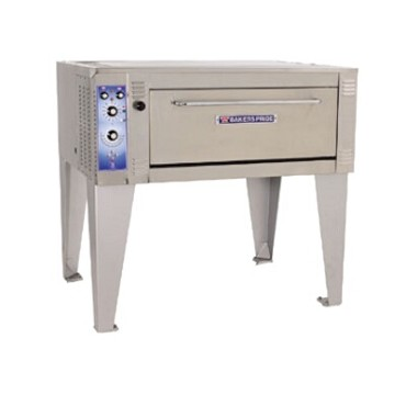 "Bakers Pride ER-2-12-3836 - Bake/Roast Deck Oven, electric, (2) 38""W x 36""D x 12""H cavities, ""U"" elements"