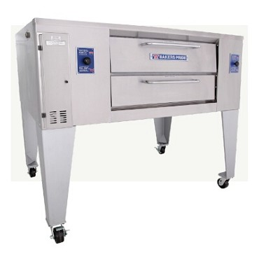 "Bakers Pride GS-805 - Pizza Deck Oven, gas, single deck, 36""W x 36""D bake deck, one 6-"