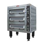 BakeMax BMDDD02 - Double Deck Oven, electric, accommodates (4) 18