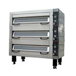 BakeMax BMFD002 - Double Deck Oven, electric, accommodates (8) 18