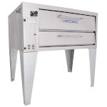 Bakers Pride 351 - Pizza Deck Oven, gas, single deck, 45
