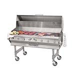 Bakers Pride CBBQ-60S - Outdoor Charbroiler, gas, 60