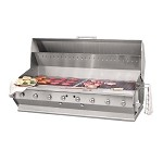 Bakers Pride CBBQ-60BI - Outdoor Charbroiler, gas, built-in, 60