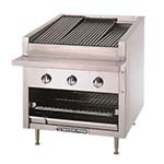 Bakers Pride C-24R - Charbroiler, gas, counter model, 24