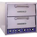 Bakers Pride DP-2 - Pizza/Bake Oven, elec., countertop, two compartment, each 20-3/4