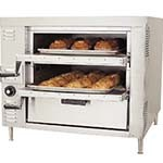 Bakers Pride GP-61 - Oven, countertop, gas, pizza/bake, double compartment two 30