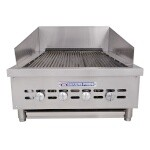Bakers Pride XX-4 - Charbroiler, gas, counter model, 21