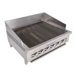 Bakers Pride XX-6 - Charbroiler, gas, counter model, 31-1/2