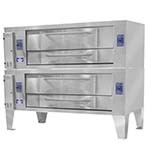 Bakers Pride Y-802 - Pizza Deck Oven, gas, double deck, 66