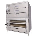 Bakers Pride GP-52 - Oven, countertop, gas, pizza/bake, double compartment two 21