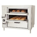 Bakers Pride GP61 - Countertop Oven, gas, pizza/bake, double compartment, (2) 30