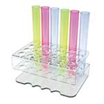 OVERSTOCK Bar Maid CR-1600 - Shooter Tube Rack, 24 holes, clear
