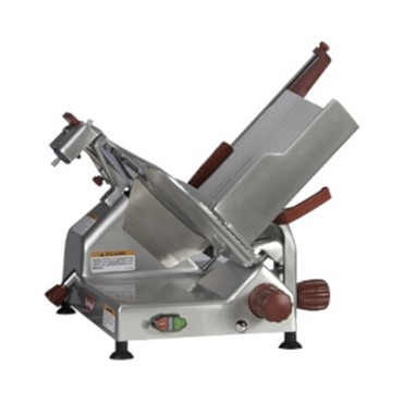 Berkel 829E-PLUS - Manual Gravity Feed Slicer w/14 in. Blade & Built In Sharpener