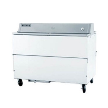 Beverage Air STF58HC-1-W - School Milk Cooler w/White Exterior & Galvanized Interior, 24.5 cu. ft. Cap