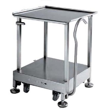 "Bizerba B56-BZ-1 - Equipment Stand, 32""H with retractable casters, for Bizerba slicers"