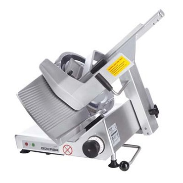 "Bizerba GSP HD STD-90-GVRB - Automatic Heavy Duty Safety Slicer, 13"" Grooved Cheese Blade, thumb guard 3.5"" W"