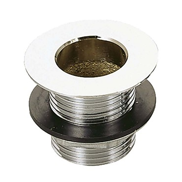 "BK Resources BKDR-325CP - Drain, 1"" NPS drain size, 1-7/8"" flange, 3-1/4""L, chrome"